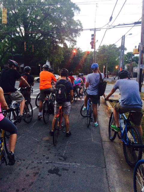 Start of the ride.