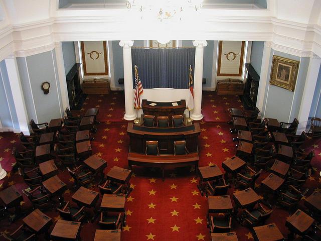 N.C. Senate chamber