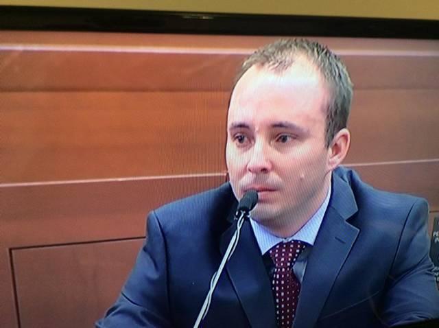 Randall Kerrick testifying.