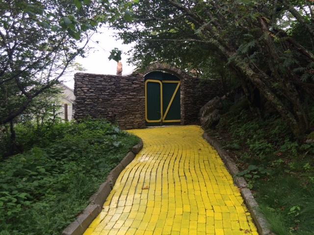 The yellow brick road.