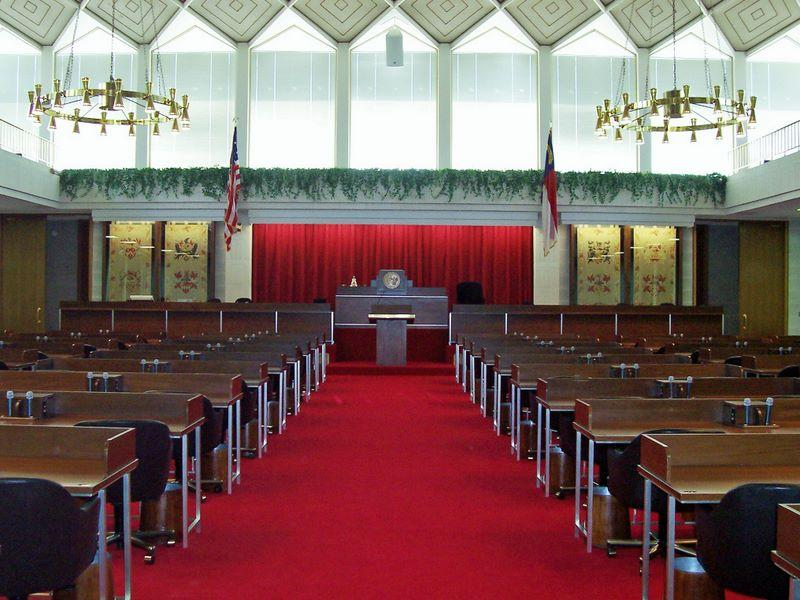 North Carolina General Assembly House Chamber.