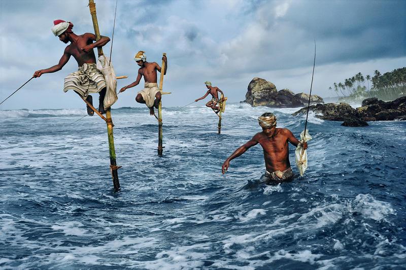 Fishermen, South coast, Sri Lanka