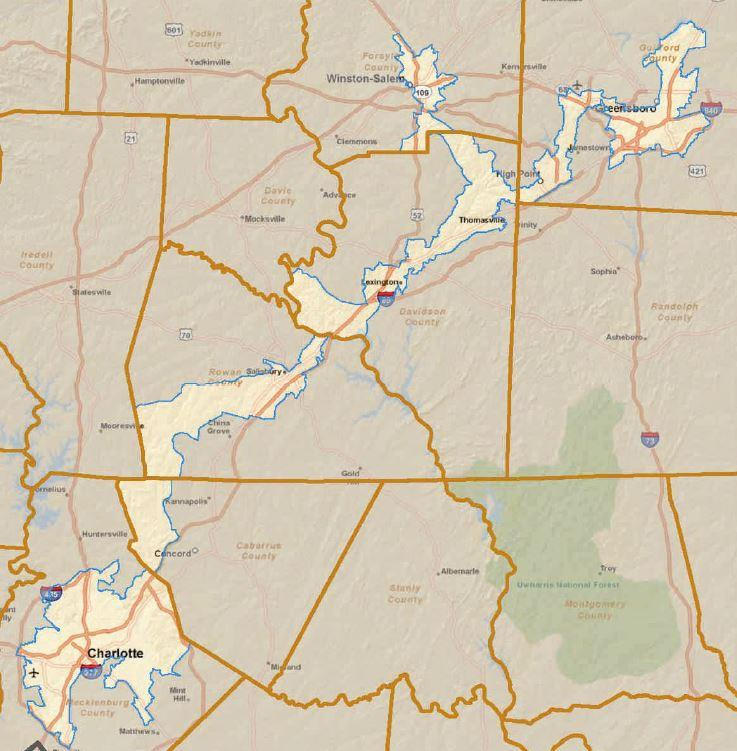 New Congressional Map Leads To Potential Candidate Chaos And - Us nc congress district 9 current map