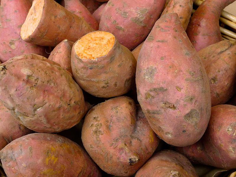 地瓜含有豐富的纖維、維生素B6、維生素C、維生素D及氨基酸