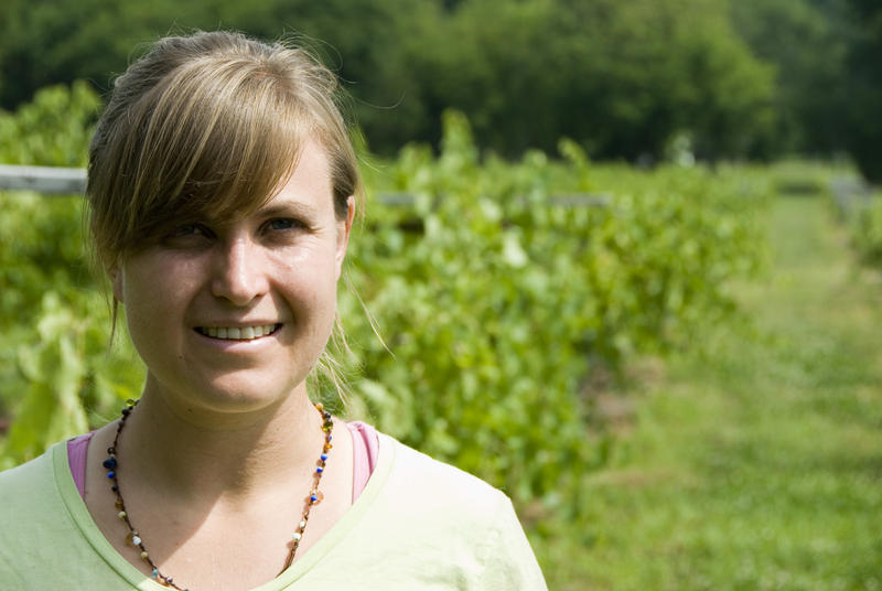 Elizabeth Ann Dover is the owner and manager of Dover Vineyards in Concord.