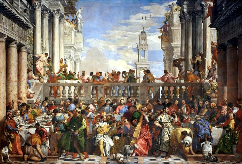 Wedding at Cana by Paolo Veronese, 1562