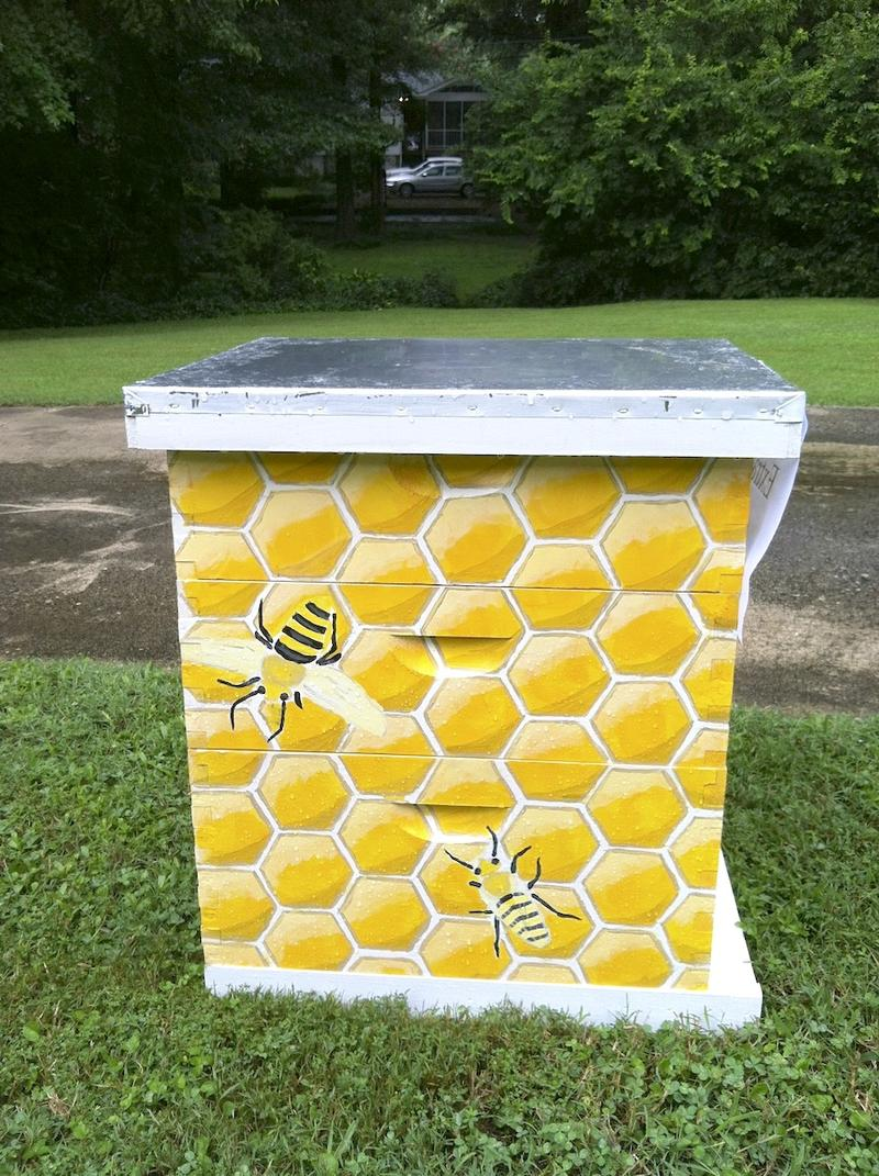 a beehive