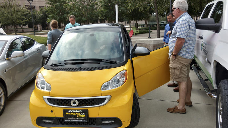 Tom Bodiford's smart car