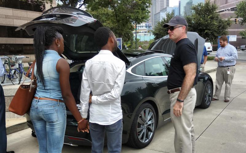 Andrew Diamond's Tesla S