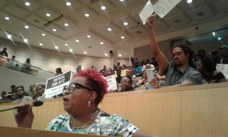 Public hearing on CMPD officer fatal shooting of African-American man