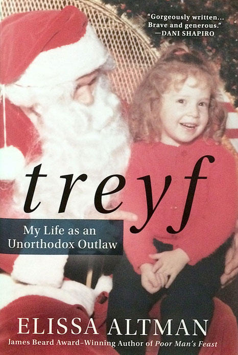 Cover of the book 'treyf'