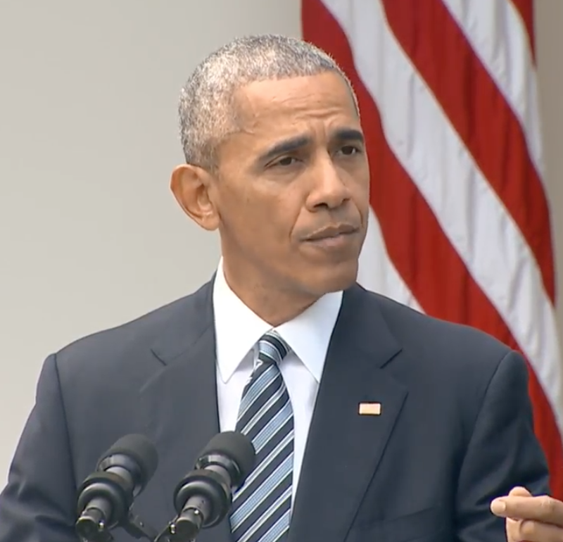 President Obama speaks about Election 2016