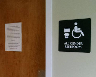 The repeal of HB 2 would remove restrictions on which restrooms transgender people can use.