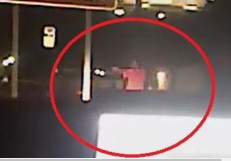 Still from Officer Michael Bell's body camera video