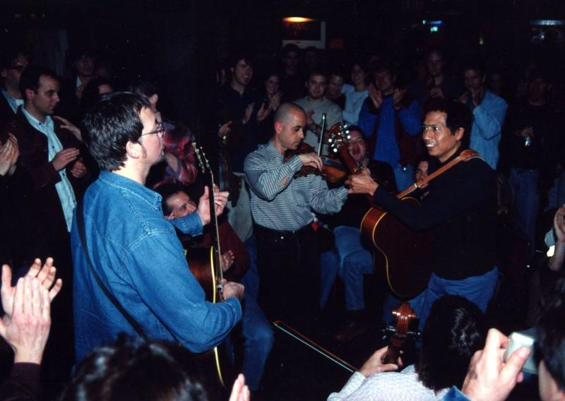 Alejandro Escovedo, January 1998.