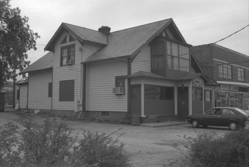 Double Door Inn, circa 1975.