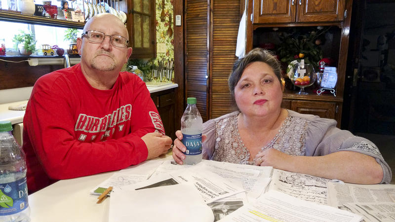 Marcelle and Deborah Graham live near Duke Energy's Buck plant in Salisbury. They think the company's offer of coal ash compensation isn't enough.