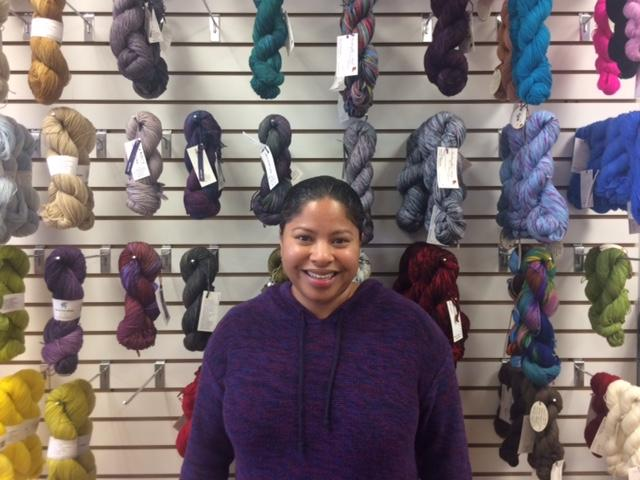 Remi Haygood is the owner of Charlotte Yarn.
