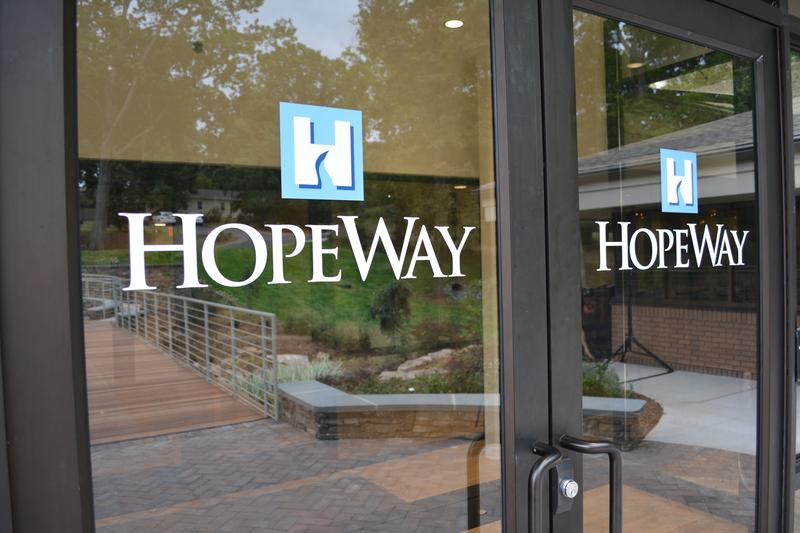 entrance of HopeWay