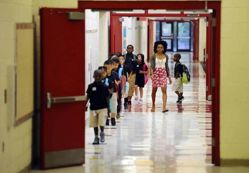Students at Thomasboro Academy