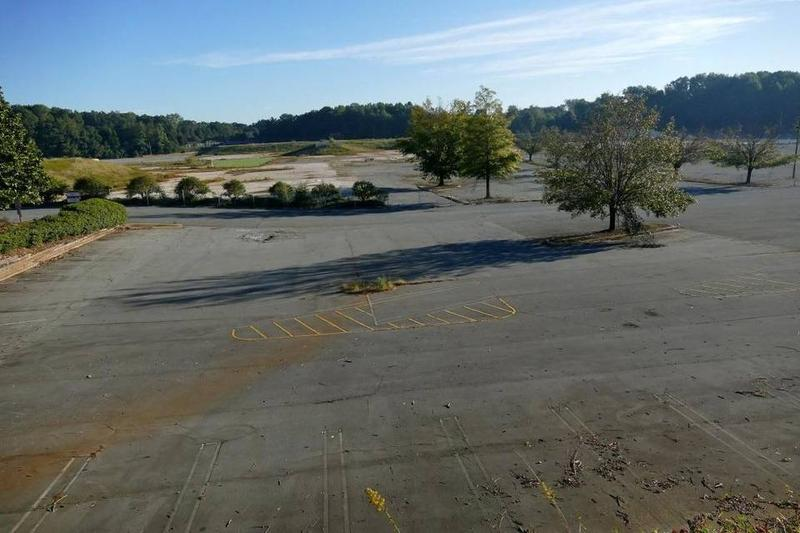 The site of the former Eastland Mall on Central Avenue at Albemarle Road.