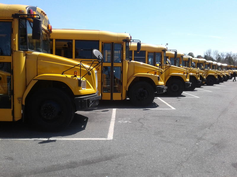 CMS officials recruit and hire bus drivers year round to fill vacancies