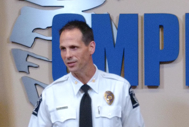 CMPD Deputy Chief Jeff Estes says violent crime is up after declining over the last decade.