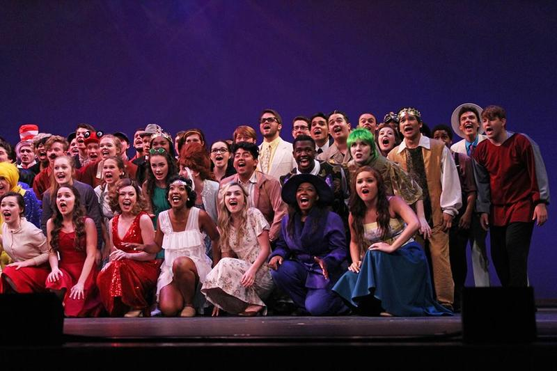 Sunday night's awards show included performances by students from all 46 schools participating.