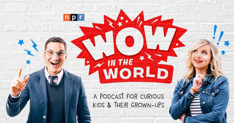 Guy Raz and Mindy Thomas are the voices - and writers - behind the new NPR podcast for kids.
