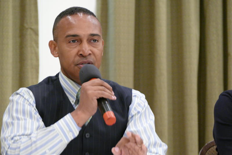 Patrick Cannon advised potential candidates on how to run for public office Saturday