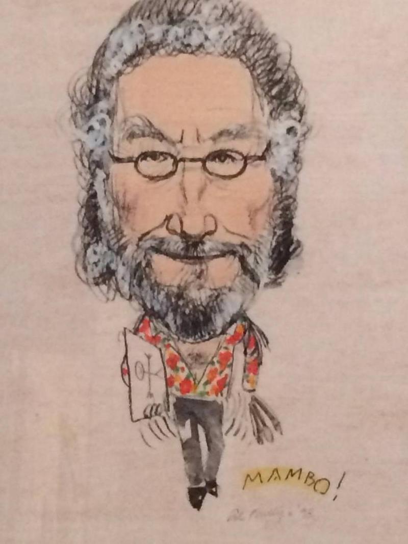 Al Phillips self-portrait