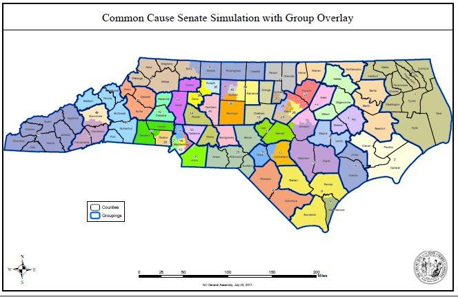 GOP Map Maker Behind NCs Illegal Districts Will Help Redraw The - Map nc