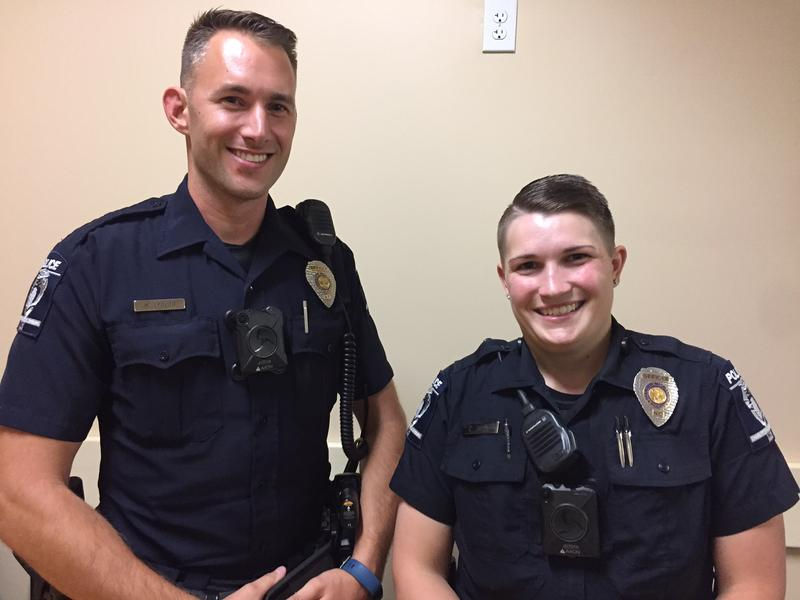 Officers Epolito and Shue.