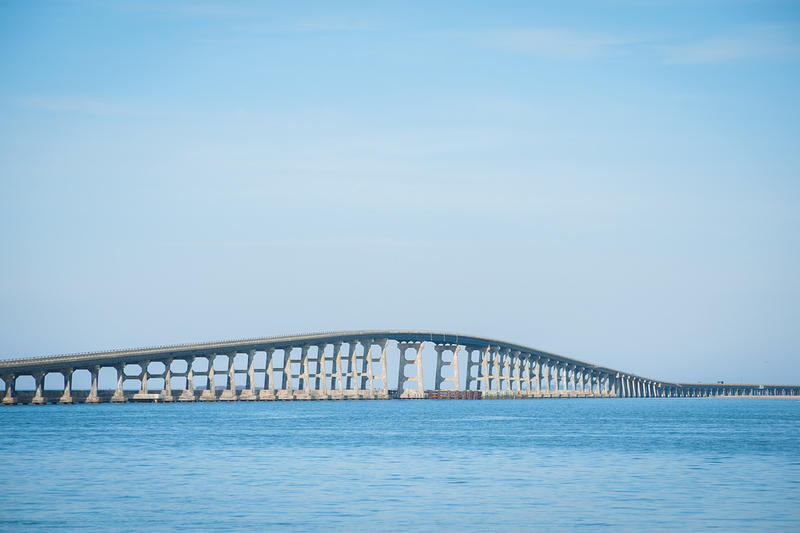 the Bonner Bridge