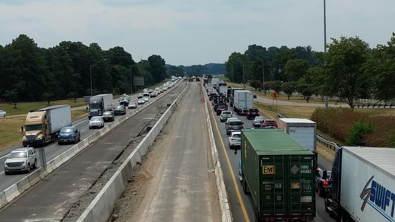 I-77 exit 28 in Cornelius