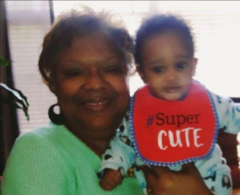 "Bonita Graham says the family calls Carr's son ""little Justin."""