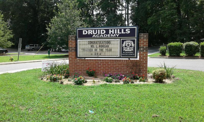 Druid Hills Academy in District 3