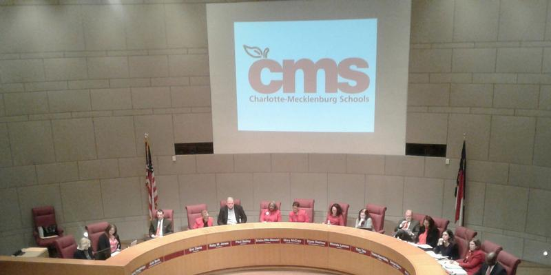 CMS Board of Education meeting