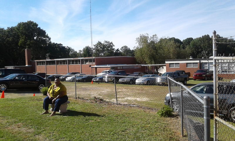 Fairfield High's gym is in disrepair but the alumni association hopes to renovate it someday and use it for community events