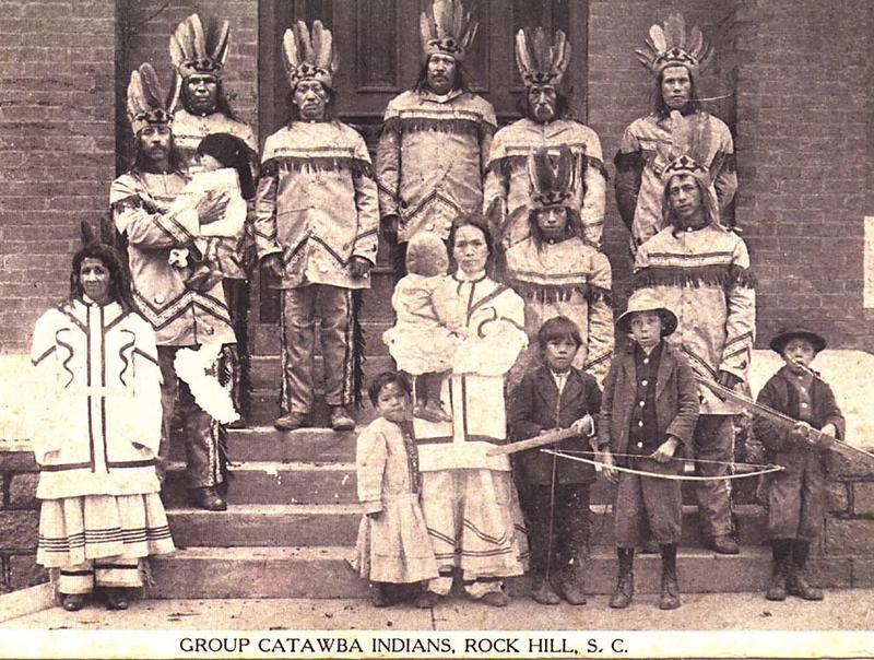 Catawba Indians at the Corn Exposition, 1913