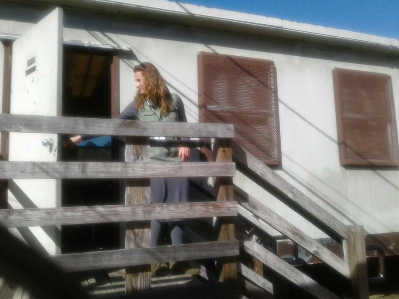 More than half of Briarwood Academy's students take classes in portables