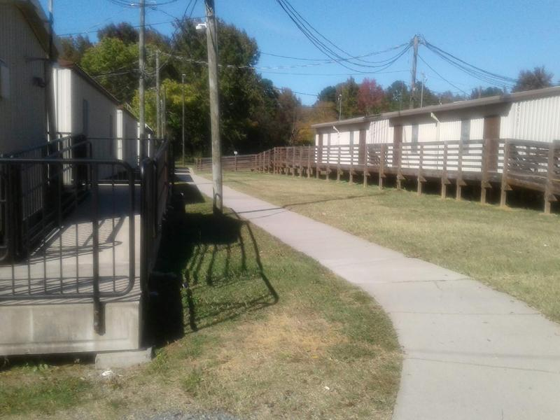 At Briarwood, 18 portables are used for more than half of the school's students