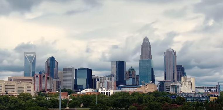 A still from the video Charlotte put together to entice Amazon to locate a second headquarters in the city.