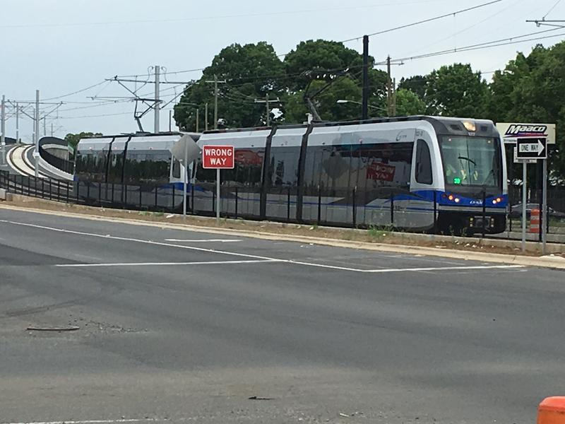 Blue Line Extension train