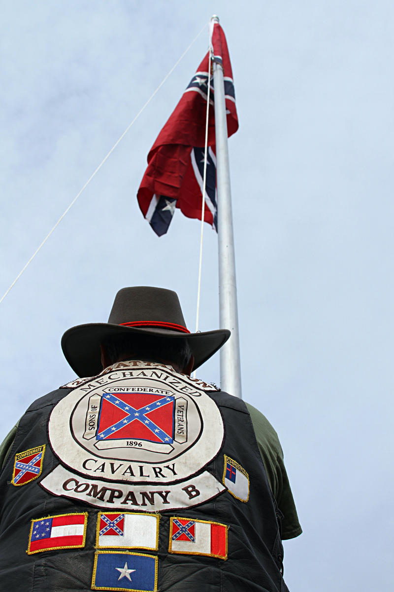 North Carolina's chapter of Sons of Confederate Veterans (SCV) vow to raise a Confederate flag for every Confederate monument taken down.