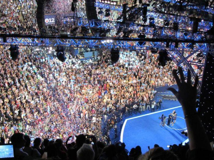 FILE: Charlotte hosted the Democratic National Convention in 2012.
