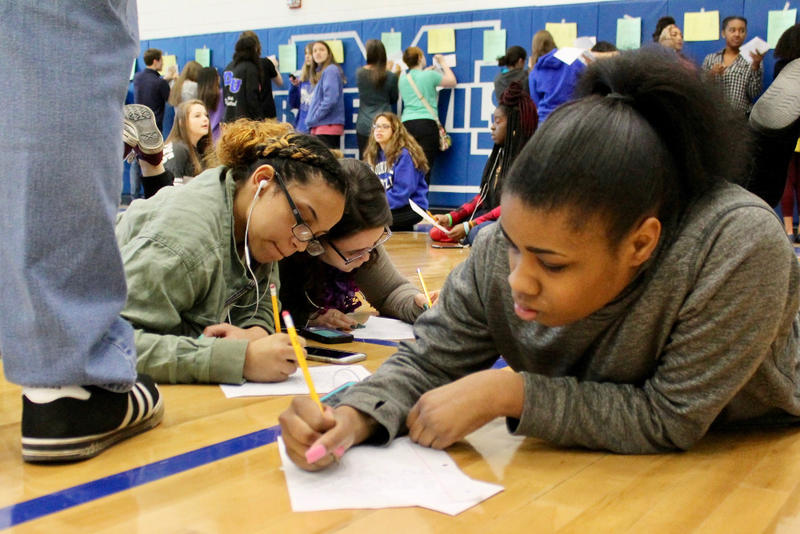 Students wrote letters to elected officials or to families of victims of the Parkland, Fla., shootings