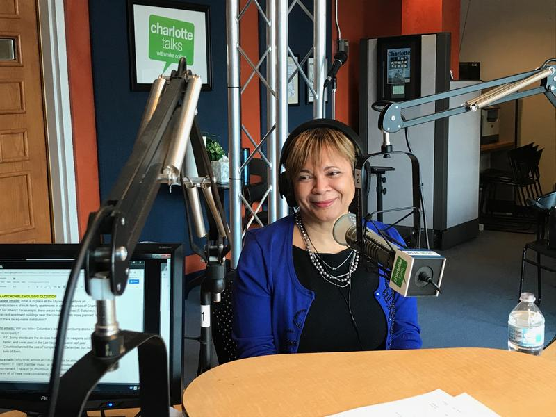 """Mayor Vi Lyles joins Mike Collins for her monthly segment on Charlotte Talks, """"Mike and the Mayor."""""""