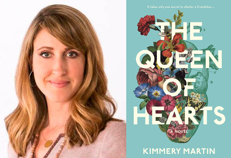 "Kimmery Martin's debut novel ""The Queen of Hearts"" has been named an anticipated read of 2018 by 'Southern Living.'"