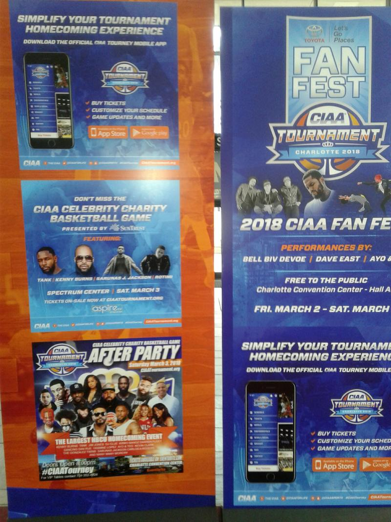 Poster of CIAA-official parties
